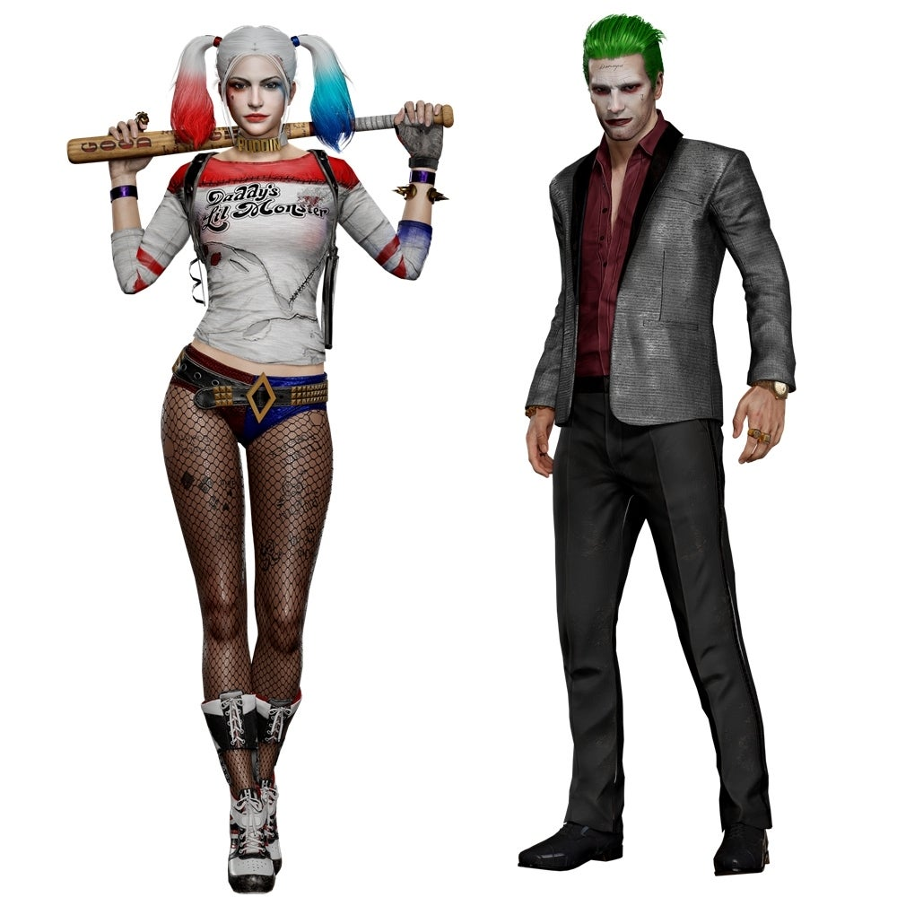 Harley and Joker PUBG Skins Now Available
