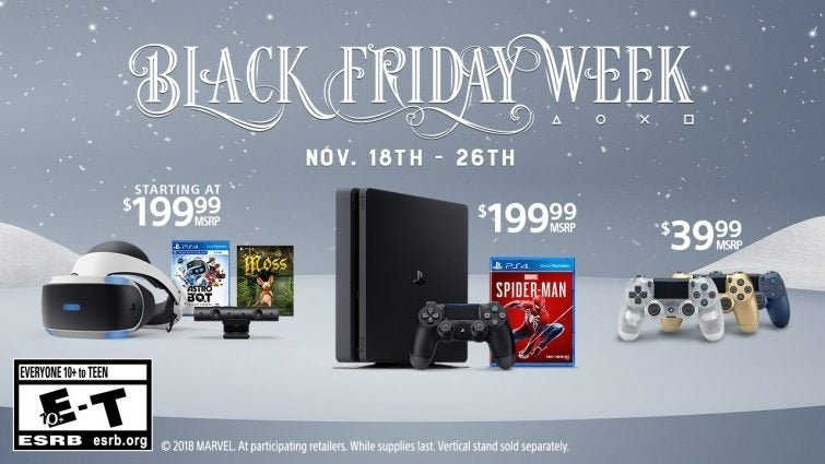 What are the best Black Friday PS4 console deals?