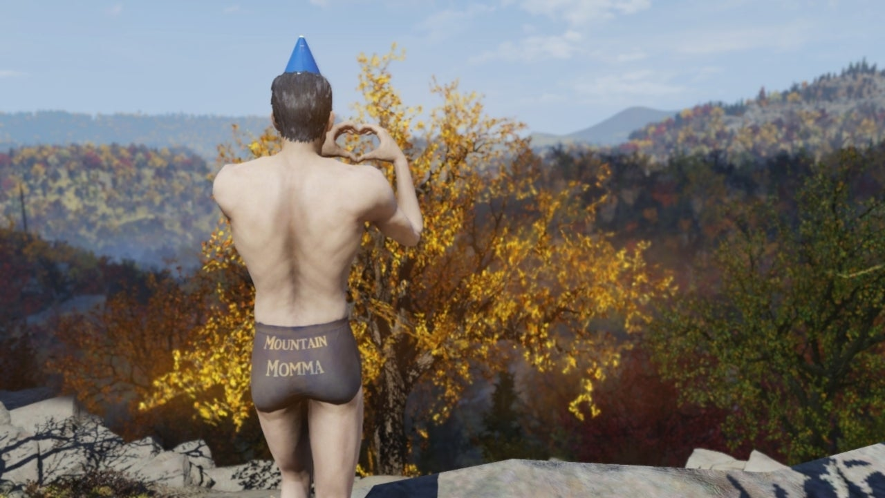 This Hilarious (and Kind of Pointless) 'Fallout 76' Mod Is Perfect for Mountain Mommas