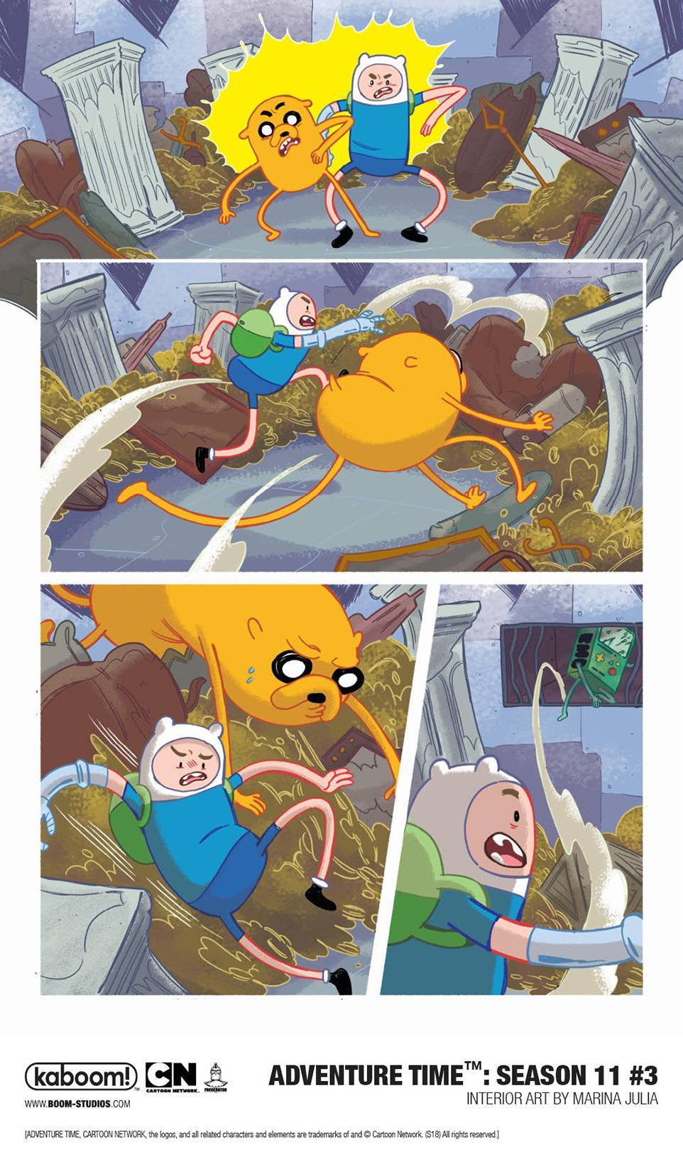 Preview: Finn and Jake Come To The Rescue in 'Adventure Time