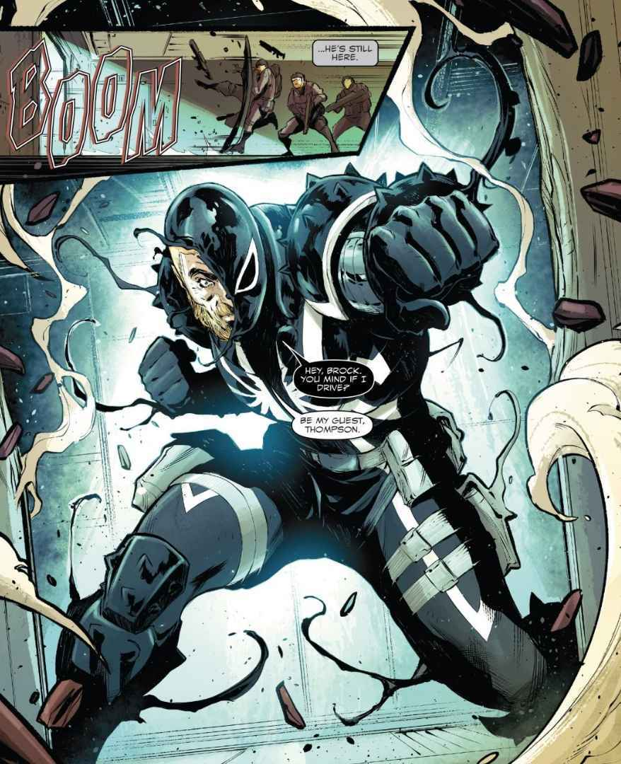 Agent Venom Makes Mighty Marvel Return