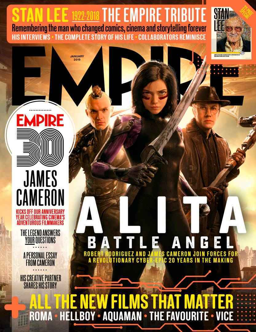 Alita Battle Angel EmpireCover