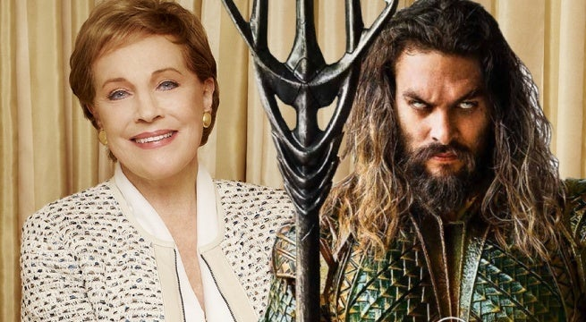 aquaman julie andrews karathen