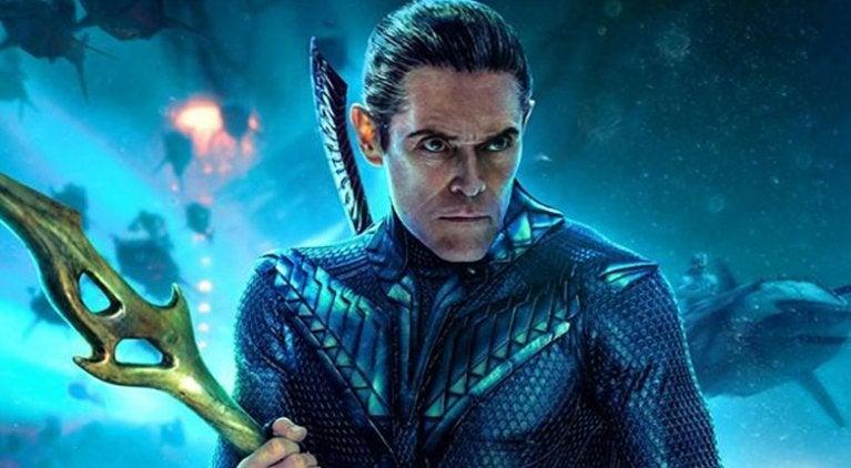 Aquaman Vulkok Willem Dafoe