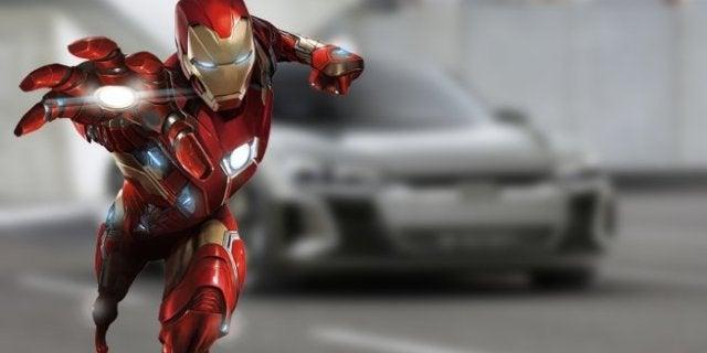 Avengers 4 Audi E-Tron GT Robert Downey Jr Tony Stark