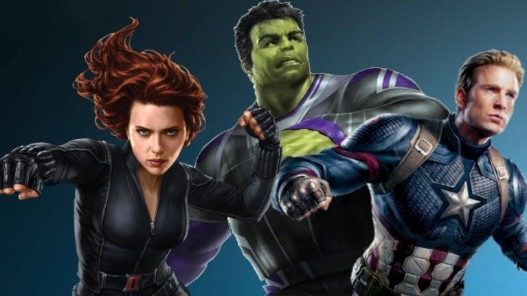 Avengers 4 Captain America Hulk Widow comicbookcom