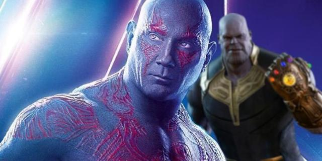 'Avengers: Infinity War' Keyframe Reveals Unused Drax and Thanos Battle Scene