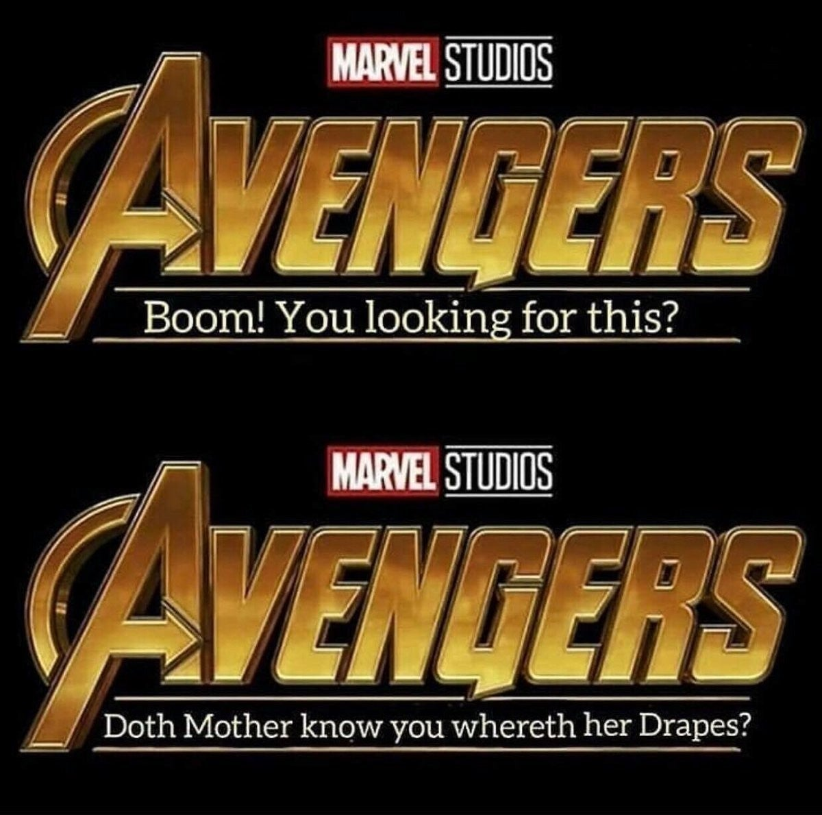 hilarious avengers 4 titles based on marvel film quotes go viral