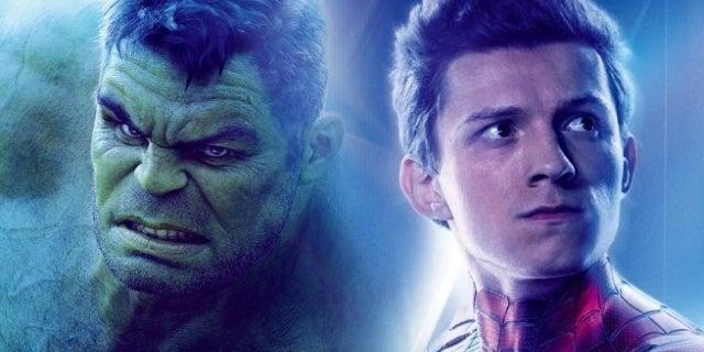 avengers infinity war hulk spider man