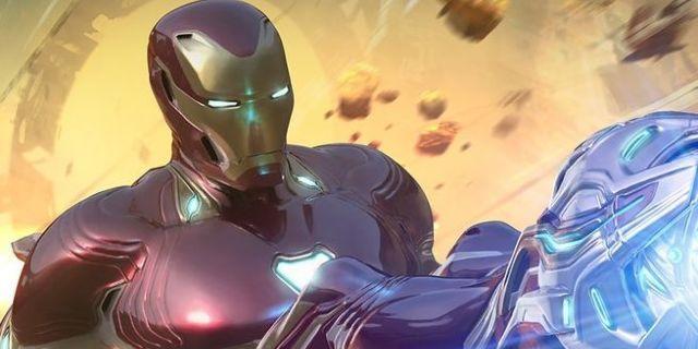 avengers-infinity-war-iron-man-thanos-fight-art