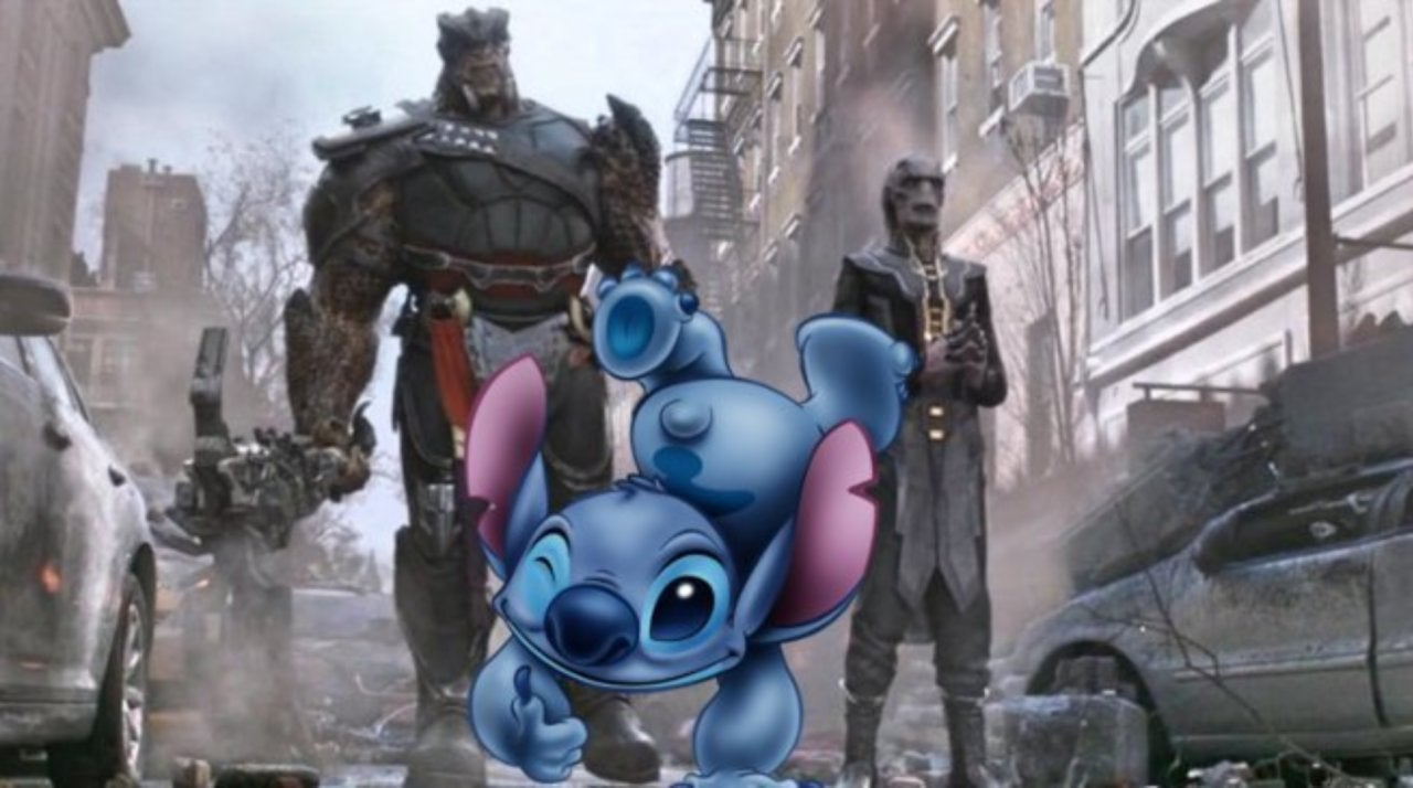 Disney Fans Can't Unsee 'Lilo & Stitch' Moment in 'Avengers
