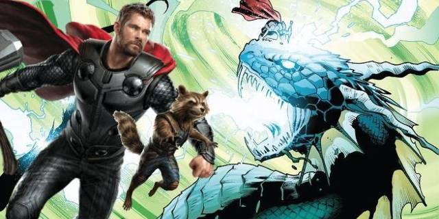avengers-infinity-war-thor-rocket-raccoon-fight-giant-serpents
