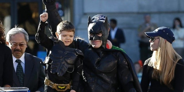 Batkid Officially Declared Cancer Free