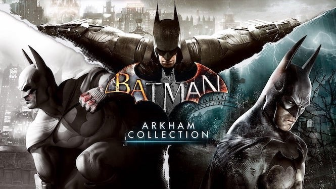 """Batman Arkham """"title ="""" Batman Arkham """"height ="""" 374 """"width ="""" 665 """"class ="""" 40 """"data- item = """"1 <div class=""""e3lan e3lan-in-post1""""> </div> 145889"""" /> </figure> <p> And now, thanks to a new listing, it looks like we could be experiencing <i> Batman </i> Mania all over again. A report from TrueAchievements suggests that a <i> Batman: Arkham Collection </i> could be released this week, bringing back the Dark Knight's signature games in the series with full 4K and Xbox One X support. </p> <p> There was a listing on the Xbox Store for the game, dated to release on November 27. It appears to have been taken down, but the image was taken, along with this description from the release: </p> <p> <i> """"Batman: Arkham Collection brings you the final versions of Rocksteady's Arkham Trilogy games, including all post-launch content, in one complete collection. Experience two of the most critically ac claimed titles of the last generation – Batman: Arkham Asylum and Batman: Arkham City, with fully remastered and updated visuals. Complete your experience with the explosive final to the Arkham series in Batman: Arkham Knight. Become the Batman and utilize a wide range of gadgets and abilities to face off against Gotham's most dangerous villains, finally facing the ultimate threat against the city that Batman is sworn to protect. """"</i> </p><div><script async src="""