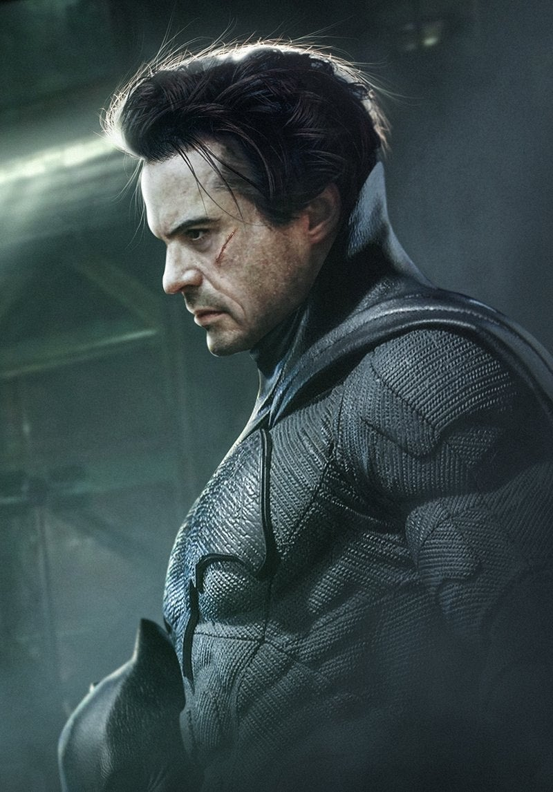 Here Is What Robert Downey Jr. Could Look Like As Batman
