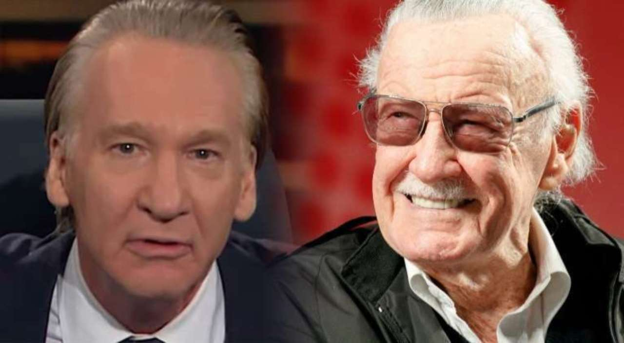 Image result for bill maher stan lee