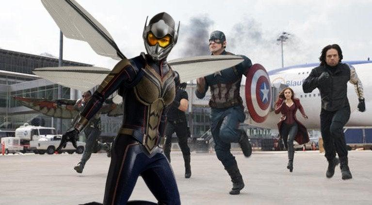 Captain America Civil War Wasp