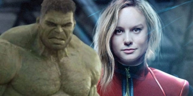 captain marvel hulk