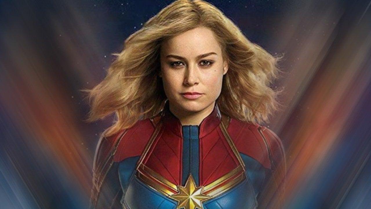 Captain Marvel Star Brie Larson Proves She's Worthy in New Mjolnir Photo