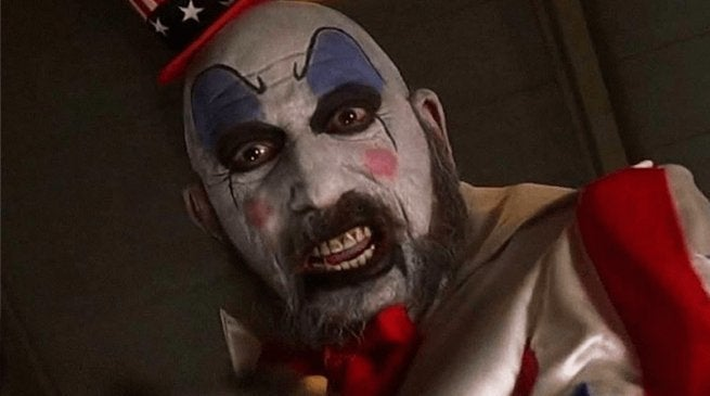 captain spaulding sid haig house of 1000 corpses