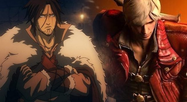 castlevania devil may cry anime