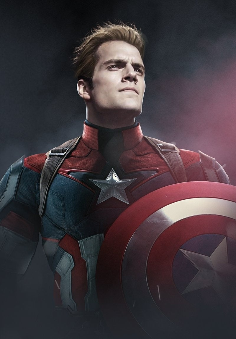 Here Is What Henry Cavill Could Look Like As Captain America