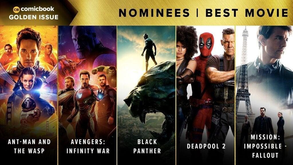 Comicbook Golden Issue Awards 2018 - Best Movie