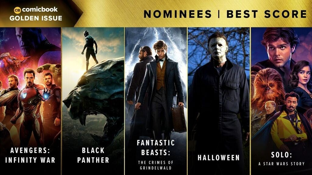 Comicbook Golden Issue Awards 2018 - Best Score