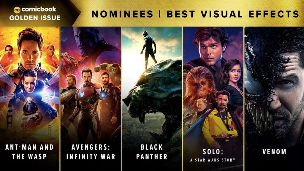 Comicbook Golden Issue Awards 2018 - Best Visual Effects