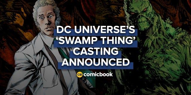 DC Universe's 'Swamp Thing' Casting Announced screen capture