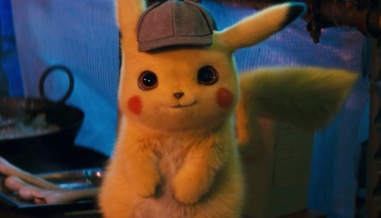 Adorable Life Size Detective Pikachu Plush Debuts In Japan