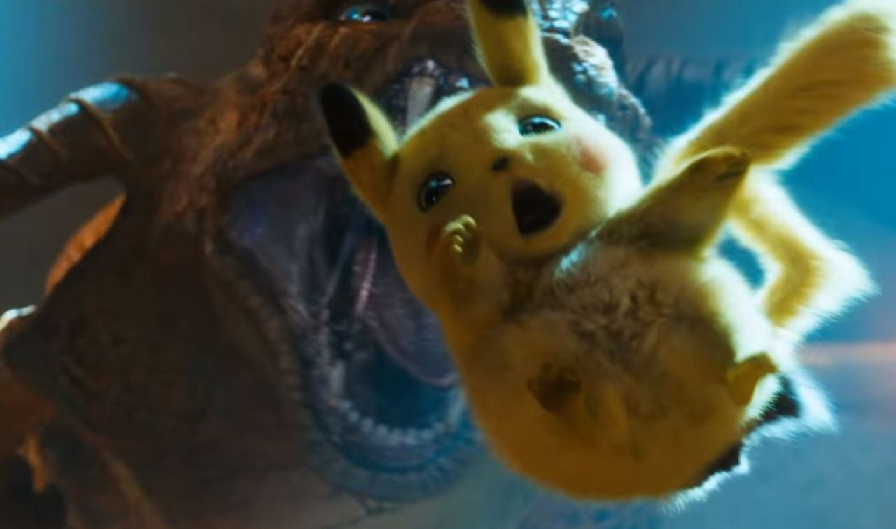 Our Best Look Yet Of Charizard In Detective Pikachu Movie
