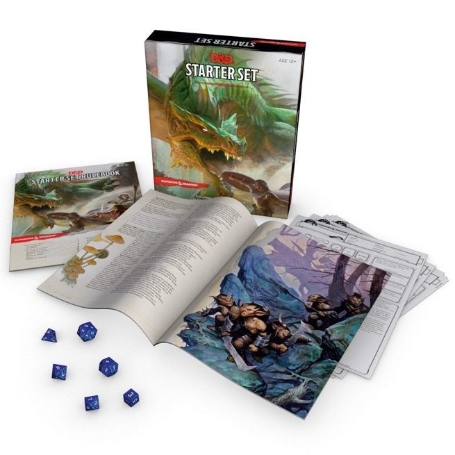 Get the 'Dungeons & Dragons' Starter Set for Only $12