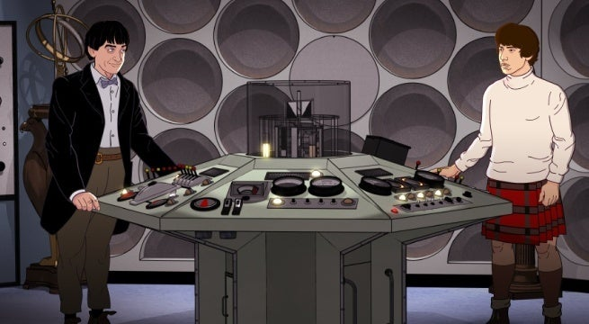doctor who the wheel in space