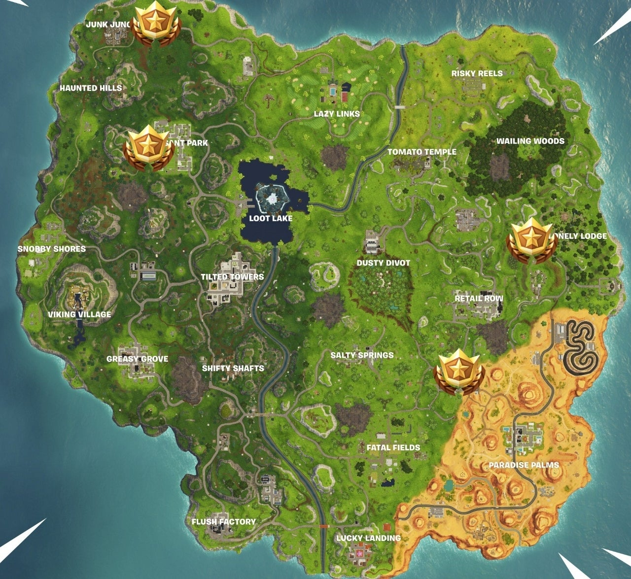 fortnite how to solve where to find carnival clown boards challenge