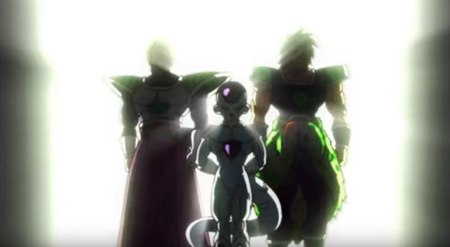Dragon Ball Super Broly Freeza Broly Team up fight