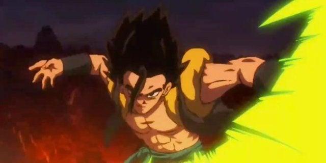 Dragon Ball Super Broly Gogeta Base Form