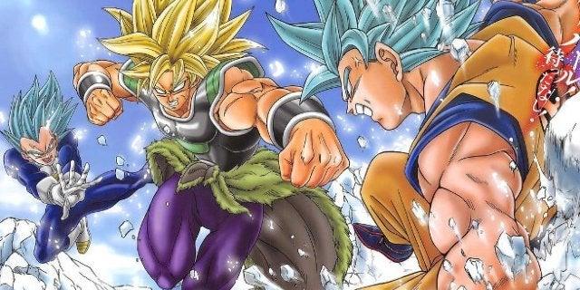 Dragon Ball Super Broly Manga