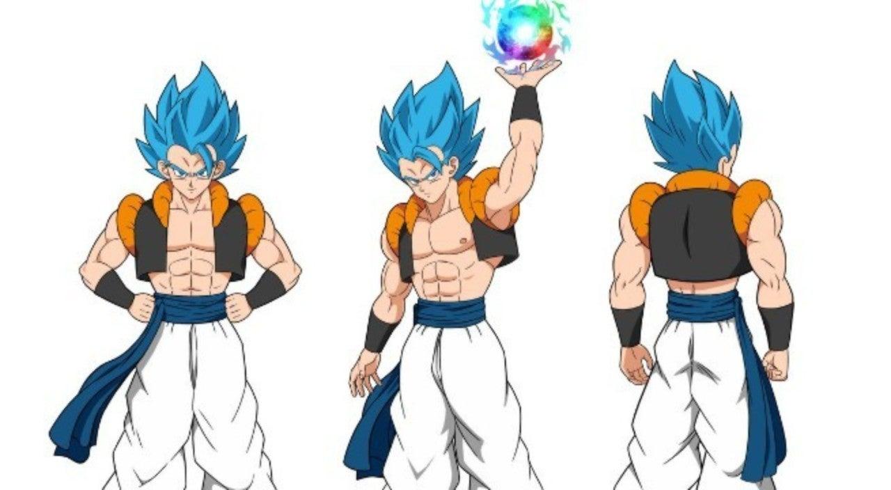 Dragon Ball Super Broly Fan Art Imagines Ssb Gogeta And Ultra
