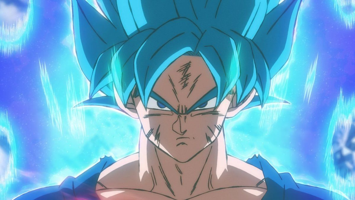 dragon ball super broly drops new super saiyan blue still
