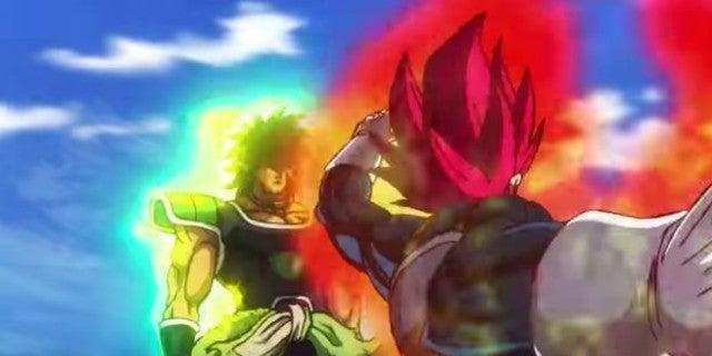 Dragon Ball Super Broly SSG Vegeta vs Broly