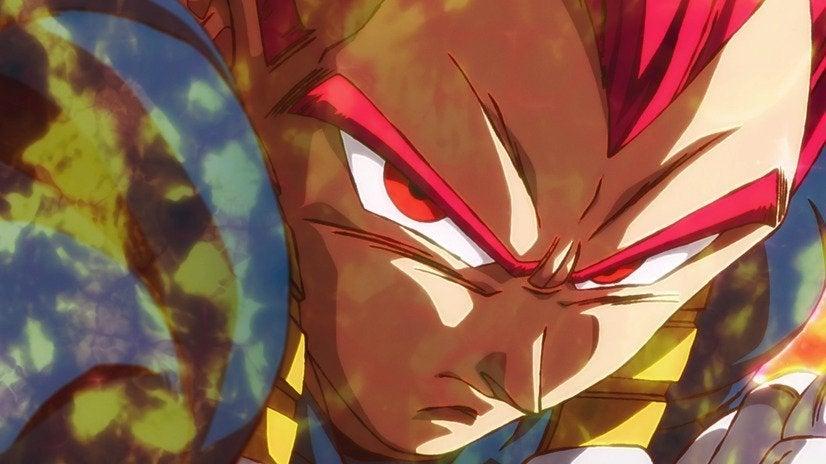 Dragon Ball Super Broly - Super Saiyan God Vegeta