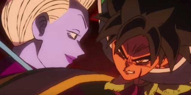 Dragon Ball Super Broly Whis vs Broly Fight