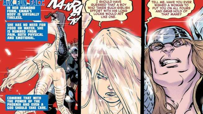 Emma Frost Solo Series - Thor