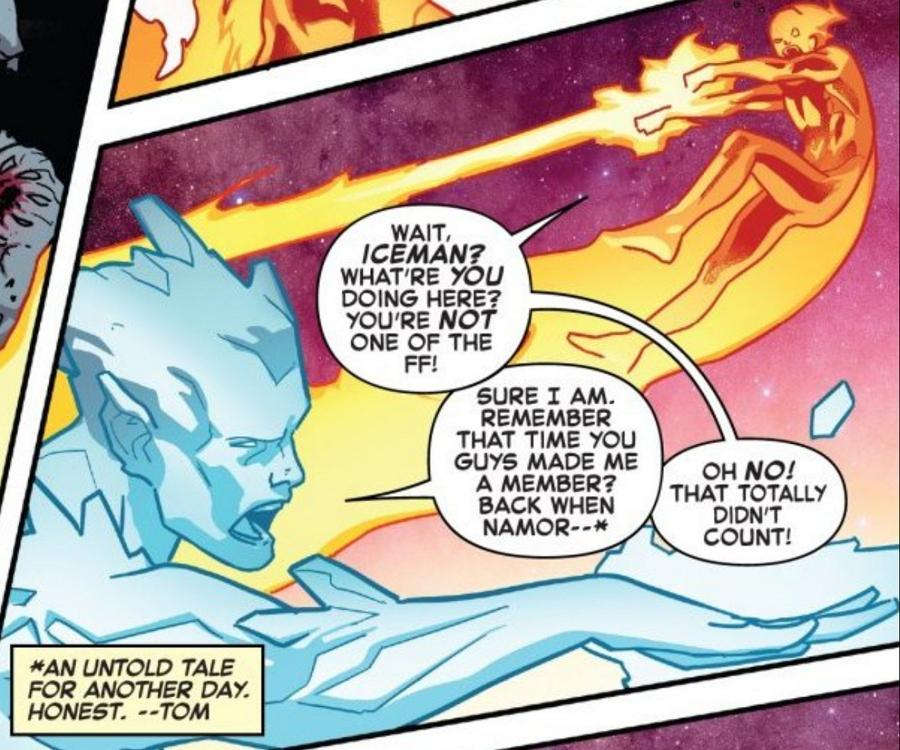 Fantastic Four Iceman Joins