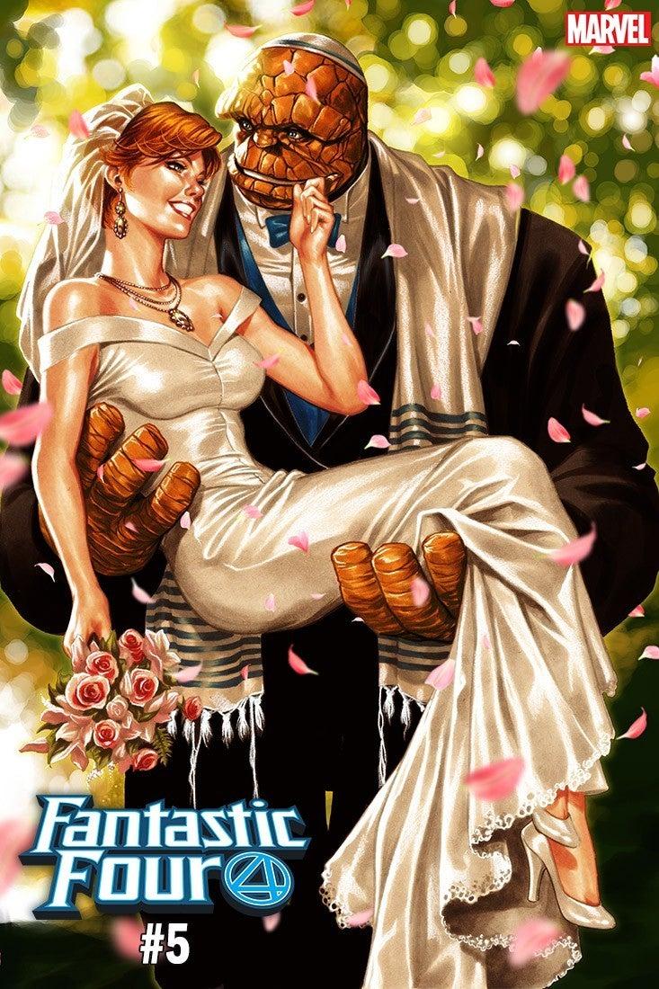 Fantástico-Four-Mark-Brooks-Cover-casamento