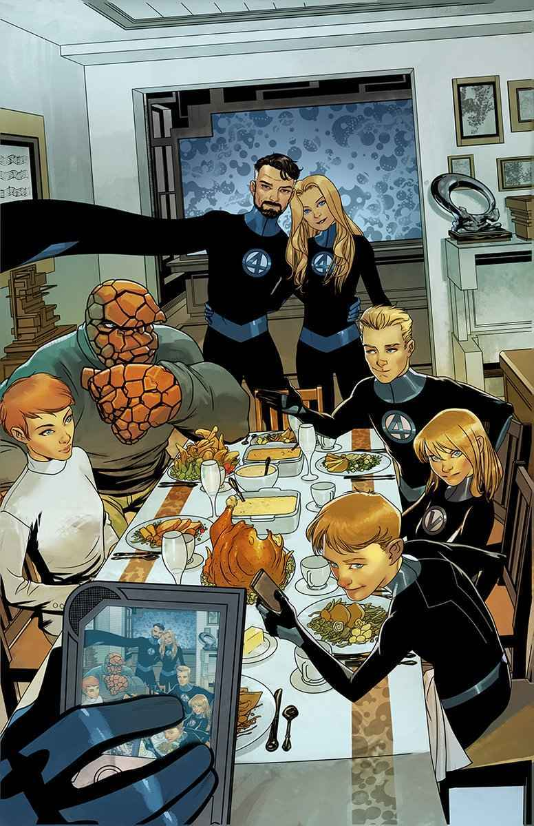 Fantastic Four Thanksgiving