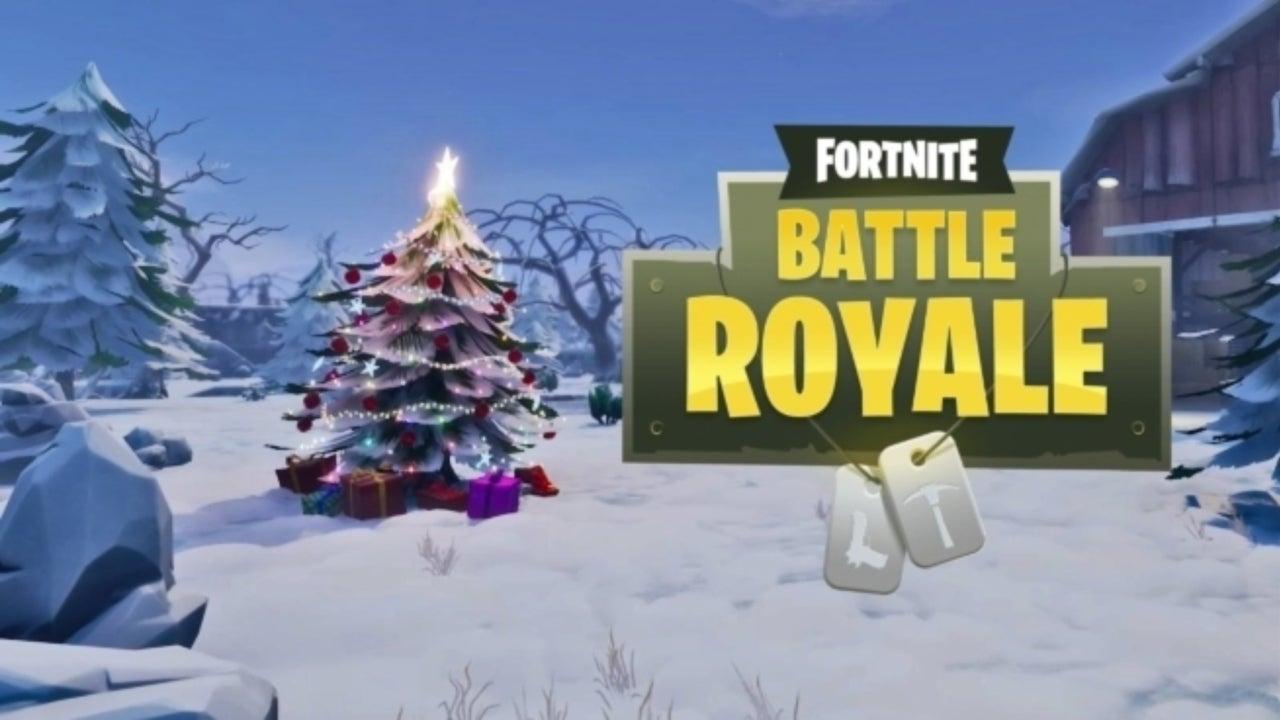 Fortnite Christmas.Fortnite Player Performs Classic Christmas Song On Giant Piano