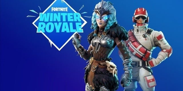39 fortnite 39 winter royale tournament announced with 1. Black Bedroom Furniture Sets. Home Design Ideas