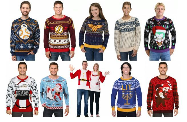 another company that puts out awesomely ugly and nerdy christmas sweaters year after year is funcom again the sweaters are high quality and are
